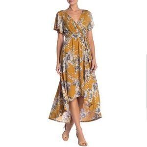 West Kei Hi-Lo Maxi Dress
